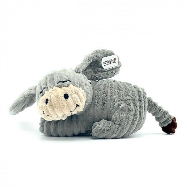 Stofftier-Esel Horsia liegend