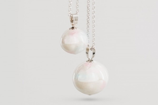 White pearl silver (Perle des Tieres)